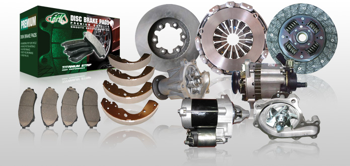 Engine and Brake Parts :