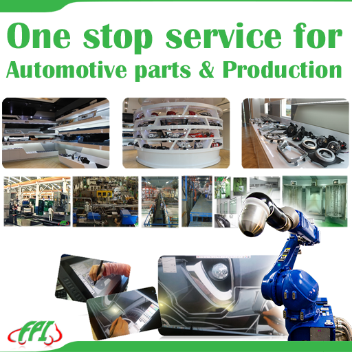 ONE STOP SERVICE FOR AUTOMOTIVE PARTS & PRODUCTION