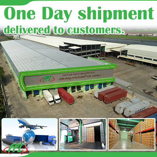 ONE DAY SHIPMENT DELIVERY TO CUSTOMERS