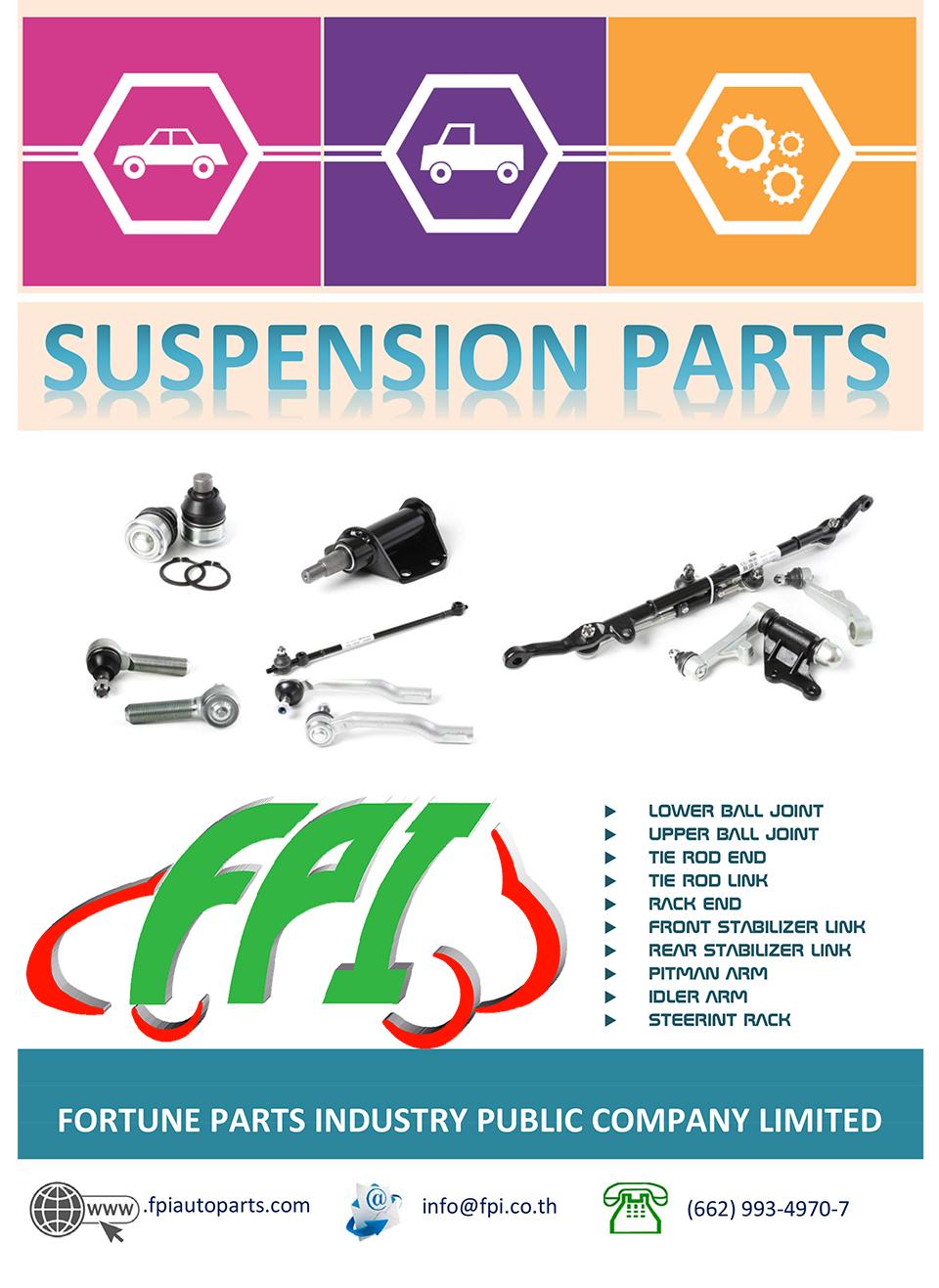 FPI Catalog #4 Suspension – FORTUNE PARTS INDUSTRY PUBLIC COMPANY
